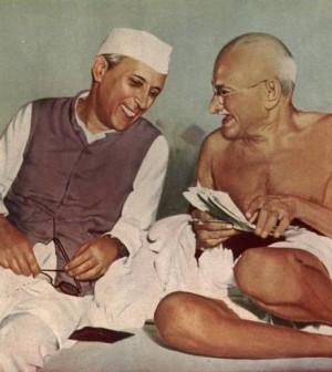 Nehru-with-Gandhi
